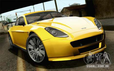 GTA 5 Dewbauchee Exemplar para GTA San Andreas
