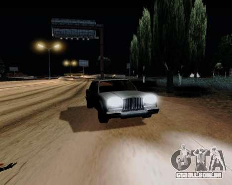 ENB Series for Low PC para GTA San Andreas quinto tela