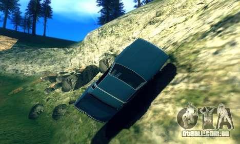 ENB Series para baixa e Média PC para GTA San Andreas por diante tela