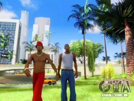 ENB Graphics Enhancement v2.0 para GTA San Andreas quinto tela