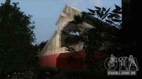 Rogue ENB Series v2 para GTA San Andreas por diante tela
