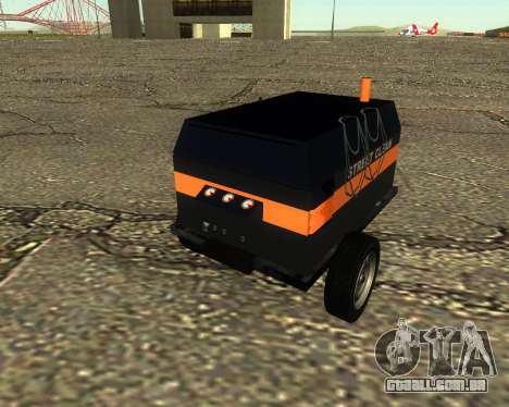 Multi Utility Trailer 3 in 1 para GTA San Andreas vista direita
