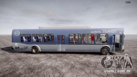 GTA 5 Bus v2 para GTA 4 interior