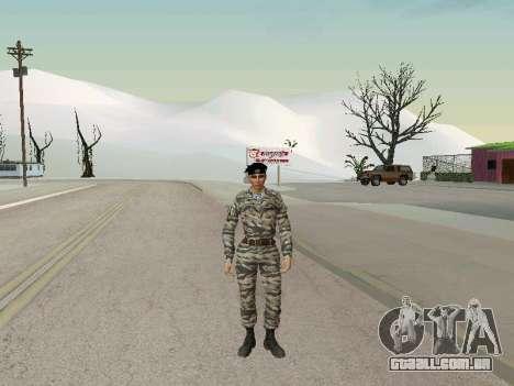 Kira Lebedev para GTA San Andreas por diante tela