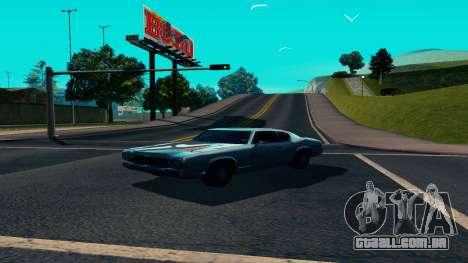 Summers-ENB v9.5 para GTA San Andreas terceira tela