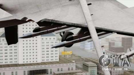 Dassault Rafale M Pisces para GTA San Andreas vista direita