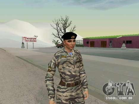 Kira Lebedev para GTA San Andreas segunda tela