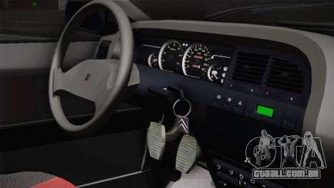 Citroen Xantia Tuning para GTA San Andreas vista traseira