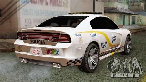 Dodge Charger SXT Premium 2014 para GTA San Andreas esquerda vista