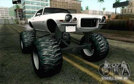 Chevrolet Camaro Z28 Monster Truck para GTA San Andreas