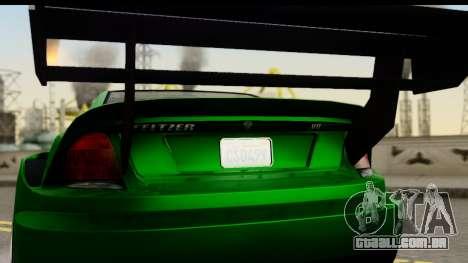 GTA 5 Benefactor Feltzer SA Mobile para GTA San Andreas vista direita