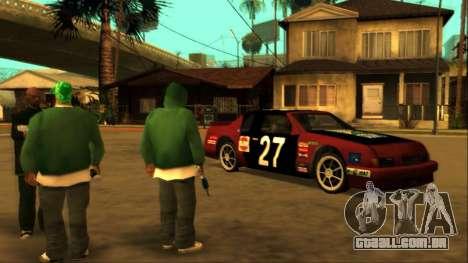 Beta Hotring Racer para GTA San Andreas esquerda vista