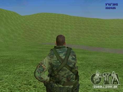 Um lutador de Esparta batalhão para GTA San Andreas sétima tela