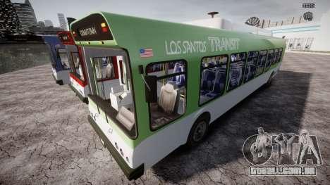 GTA 5 Bus v2 para GTA 4 rodas