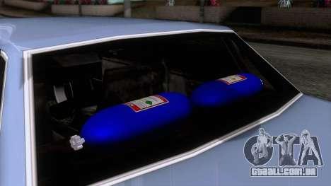 Primo GT para GTA San Andreas vista direita