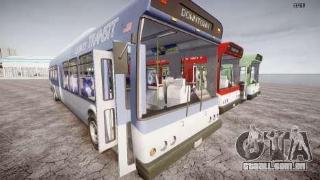 GTA 5 Bus v2 para GTA 4 vista interior