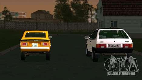 Mitsubishi Minica Skipper para GTA San Andreas esquerda vista