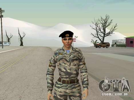 Kira Lebedev para GTA San Andreas