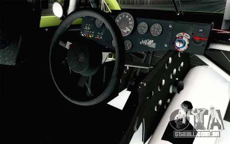 NASCAR Toyota Camry 2013 v4 para GTA San Andreas vista direita