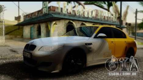 BMW M5 Gold para GTA San Andreas