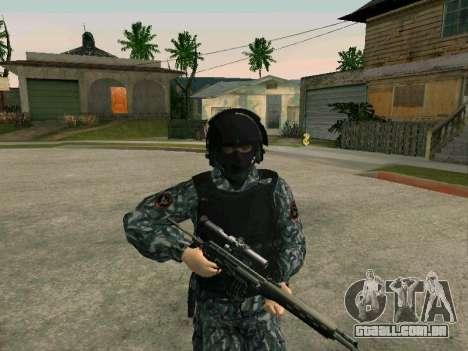 O policial para GTA San Andreas segunda tela