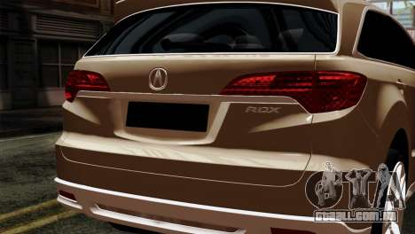 Acura MDX 2009 para GTA San Andreas vista direita