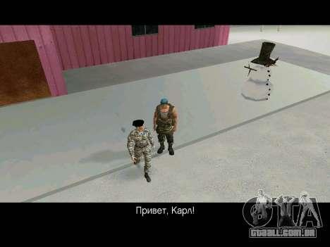Kira Lebedev para GTA San Andreas sexta tela