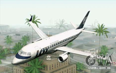 Embraer EMB-175 LOT Polish Airlines para GTA San Andreas