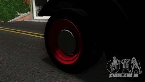GTA 5 Bravado Rat-Truck SA Mobile para GTA San Andreas traseira esquerda vista