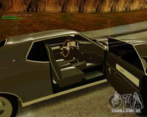 AMC AMX Brutol para GTA San Andreas traseira esquerda vista