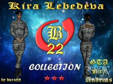 Kira Lebedev para GTA San Andreas sétima tela