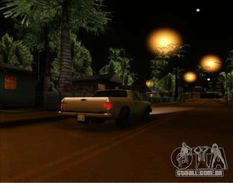 ENB Gentile v2.0 para GTA San Andreas segunda tela