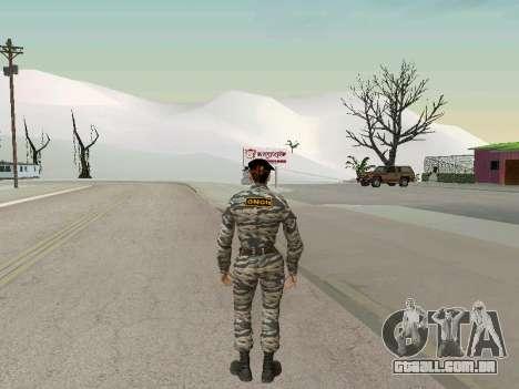 Kira Lebedev para GTA San Andreas terceira tela