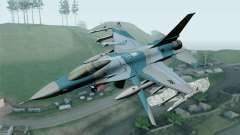 F-16C Fighting Falcon Aggressor BlueGrey
