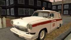 GÁS de 22 de ambulância