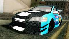 Mitsubishi Lancer Evolution IX седан para GTA San Andreas