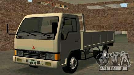 Mitsubishi Fuso Canter 1989 Flat Body para GTA San Andreas