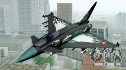 EuroFighter Typhoon 2000 Black Hawk para GTA San Andreas