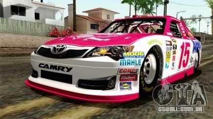 NASCAR Toyota Camry 2012 Plate Track para GTA San Andreas
