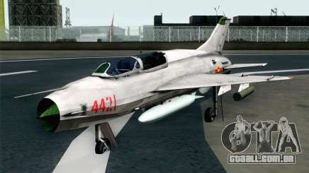 MIG-21UM Vietnam Air Force para GTA San Andreas