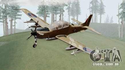 Embraer A-29B Super Tucano RAF Desert para GTA San Andreas