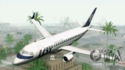 Embraer EMB-175 LOT Polish Airlines para GTA San Andreas