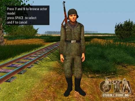 Soldados alemães para GTA San Andreas