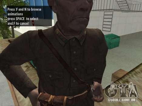 O Comissário De Markov para GTA San Andreas quinto tela