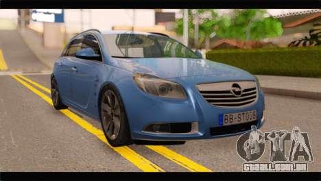 Opel Insignia Wagon para GTA San Andreas