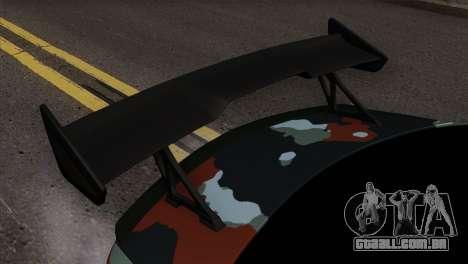 Mercedes-Benz C63 AMG para GTA San Andreas vista traseira