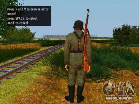 Soldados alemães para GTA San Andreas sétima tela