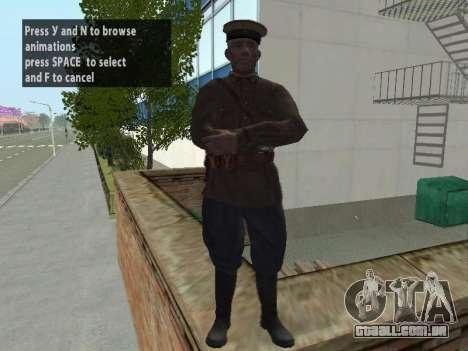 O Comissário De Markov para GTA San Andreas segunda tela