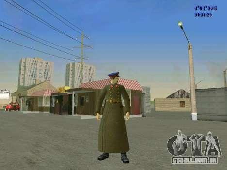 Felix Edmundovich Dzerzhinsky para GTA San Andreas segunda tela