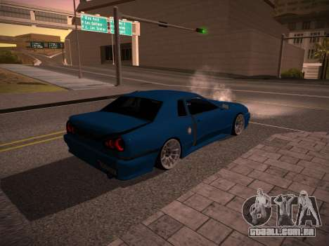 Elegy GunkinModding para GTA San Andreas traseira esquerda vista